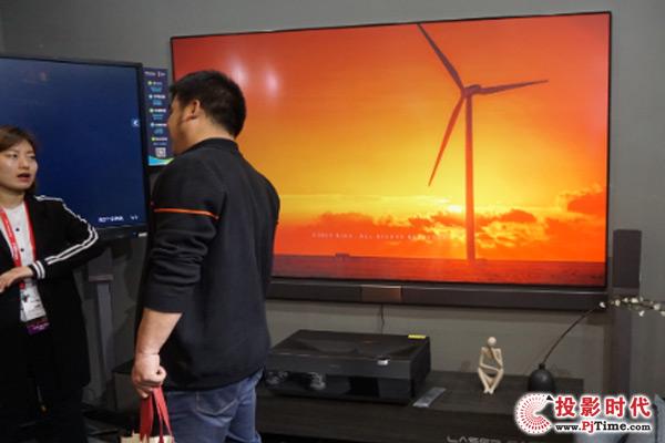 海信商用4K激光电视新品HLP100D50U