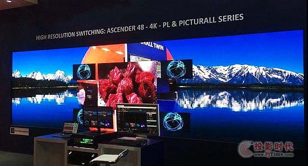 青松科技LED视频解决方案亮相InfoComm