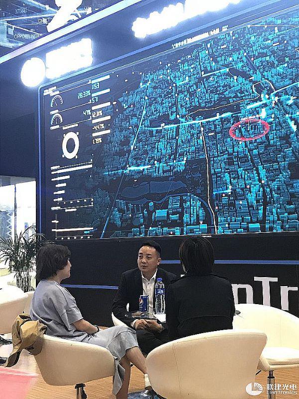 联建光电全新LED小间距高分可视化显控解决方案亮相北京InfoComm