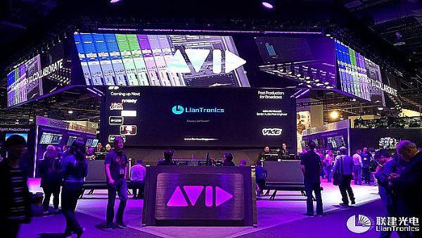 联建光电广电级LED显示新品闪耀美国NAB展