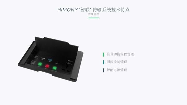"""和木HIMONY""""智联""""高清音视频传输系统IFC全球首发!"""