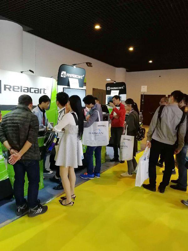 力卡携最新产品亮相北京InfoComm China 2018展