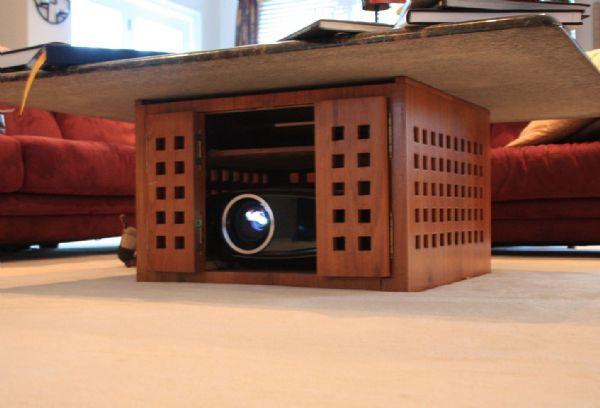 图解几种家用投影机安装方式 让你的客厅更漂亮!