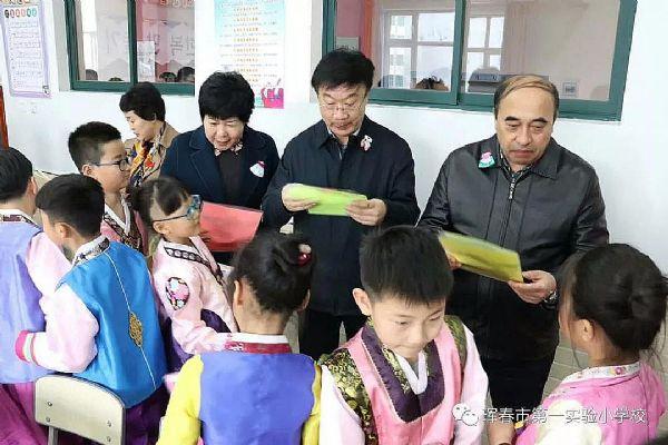 紫旭录播教室获国家教育部民教司调研组好评
