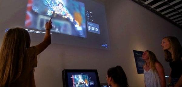 克利夫兰艺术博物馆打造混合现实互动画廊