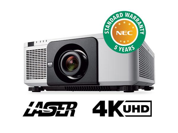 4K原生分辨率 NEC发布10000流明激光投影机