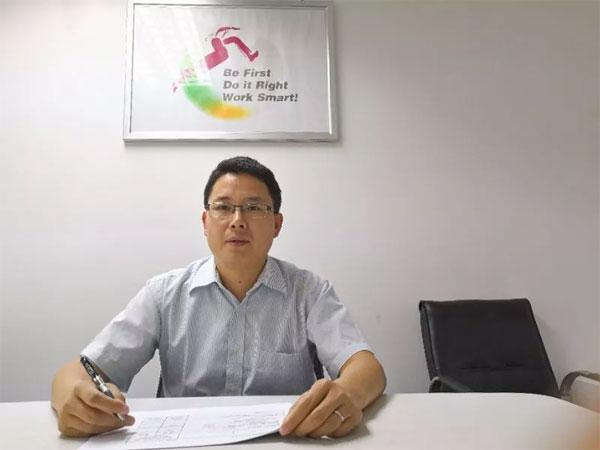 LG商用显示上海地区销售负责人,宋明飞经理