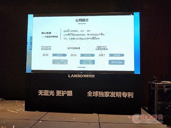 LANBO微距背投全国巡展 厦门拉开序幕