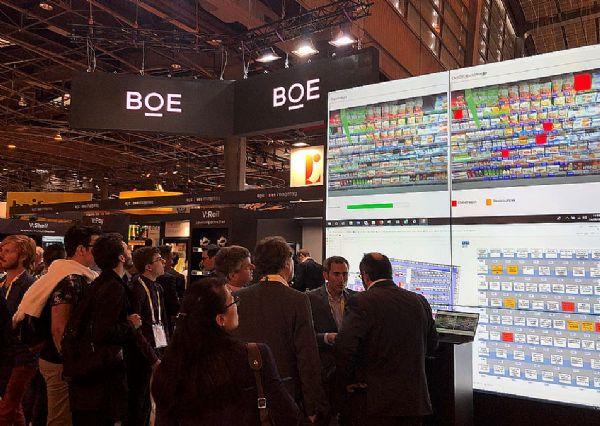BOE(京东方)智慧零售解决方案发力欧洲市场