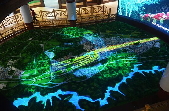 2018索尼激光工程投影机案例探访:索尼激光工程投影助力兴仁城市规划馆