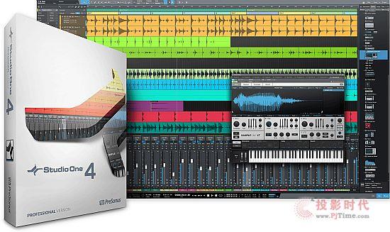 PreSonus开发 DAW宿主音乐软件Studio One 4