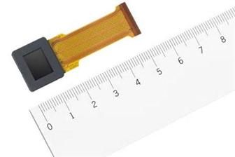 索尼日前宣布其即将发布具有UXGA分辨率(1600×1200)的ECX339A OLED微型显示器,为目前0.5英寸该类型的最高规格。