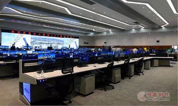 白云机场指挥控制中心