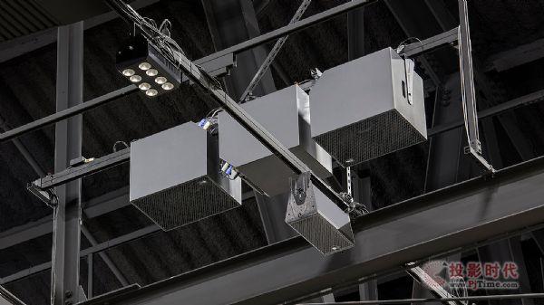 Meyer Sound有源展厅天花系统落地硅谷