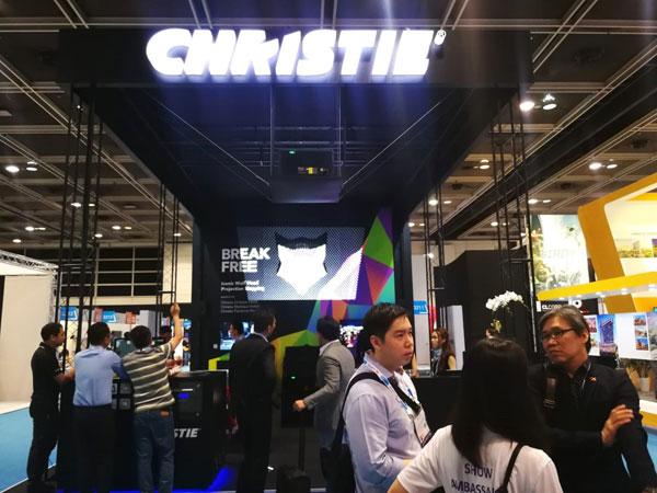 科视Christie亮相2018亚洲景点博览会