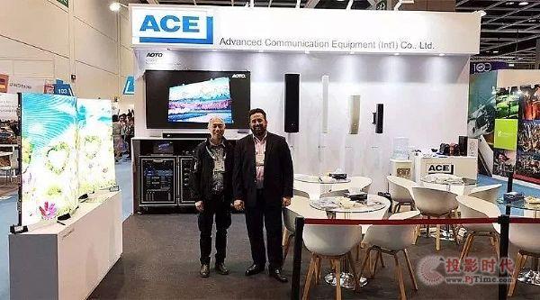 ACE专业实力亮相亚洲景点博览会IAAPA