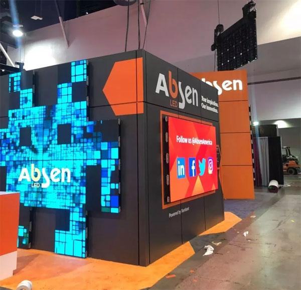 InfoComm USA 2018 精彩直击,艾比森用光和色彩点亮全场