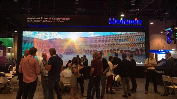 洲明InfoComm USA 2018展会现场,高清大屏+精湛解决方案给现场观众带来专业化的视听盛宴和创新体验