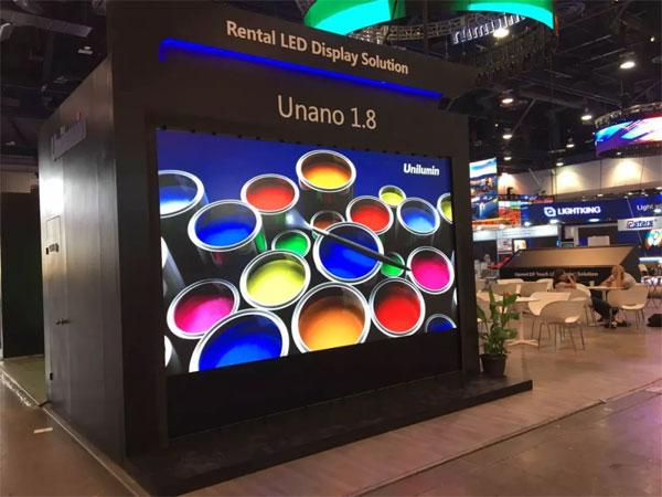 COS技术成功应用于洲明新品Unano显示屏