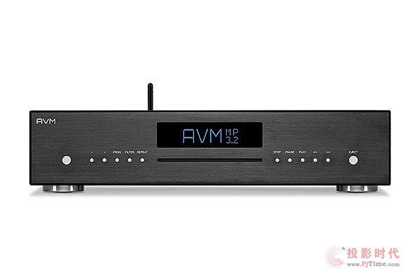 全功能:AVM Evolution MP 3.2数字播放器