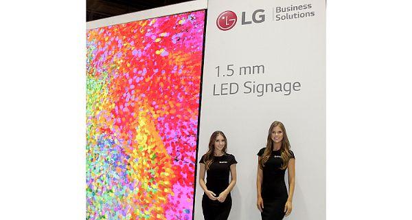 LG下一代数字标牌解决方案惊艳亮相InfoComm