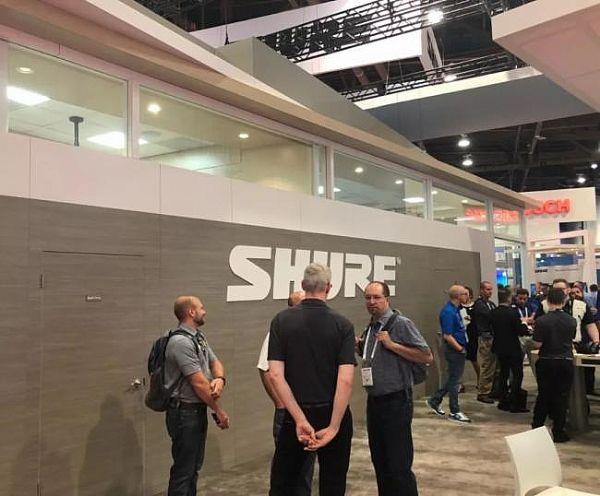 舒尔美国Infocomm展面向融合市场的最新集成系统产品和解决方案