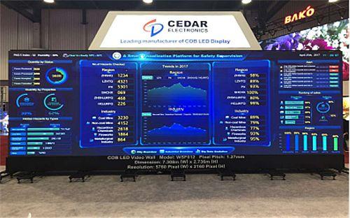 希达Mini LED COB小间距量产产品亮相美国InfoComm