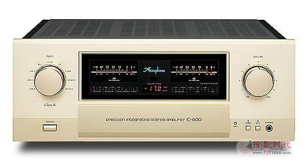 纯A类机种:Accuphase E-600综合扩大机