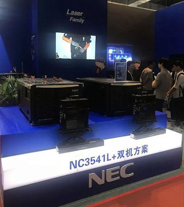 NEC在CinemaS 2018展示了什么?竟获全场瞩目