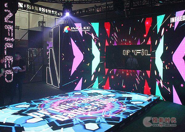 PLS广州展,视爵超炫酷舞台设计再呈精彩