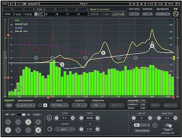 Waves TRACT 音响系统校准插件发布