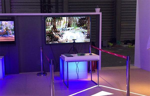 """康得新联合中国联通参展世界移动大会,遇见""""3D SR立体混合现实""""美好未来"""