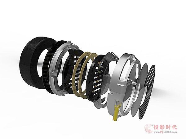 应用多项专利:Quad ERA-1平面振膜耳机