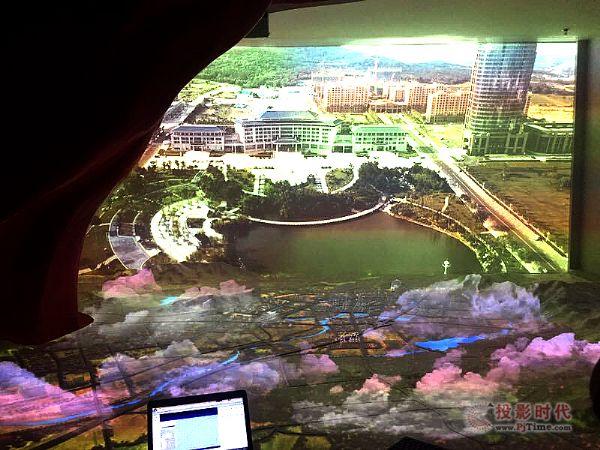 3D影像和全息投影技术再现威海草庙子变迁