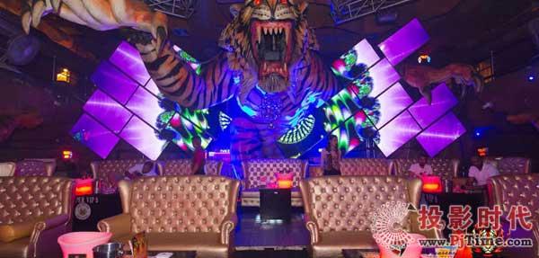 案例赏析:泰国老虎夜总会艺术视频墙