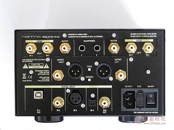 艺术与科技合而为一:Norma Audio HS-DA1 DAC