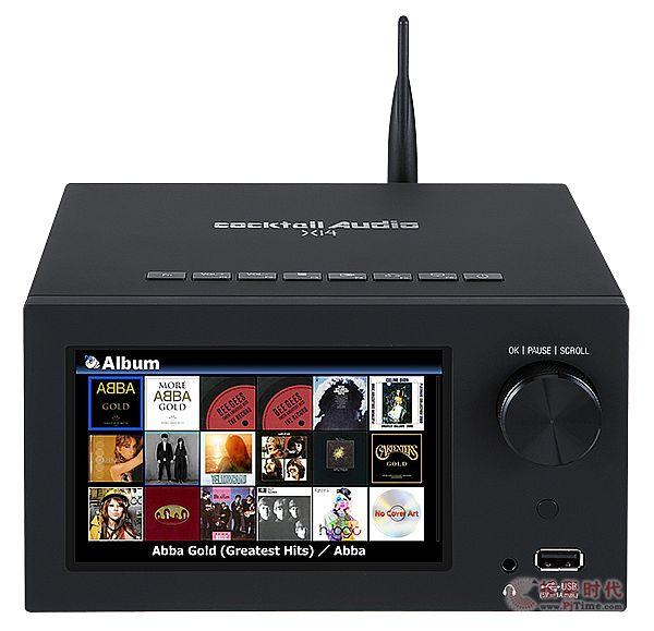 新一代入门机:Cocktail Audio X14多功能播放器