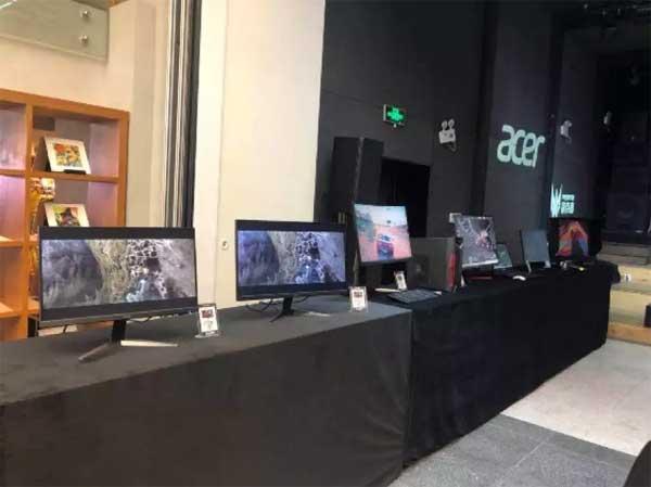 发布会现场Acer产品