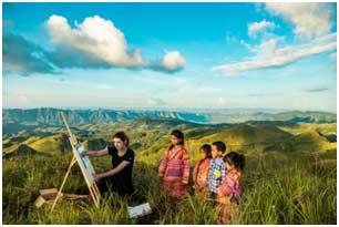 多彩的贵州随便一个视角都是一道绝美的风景