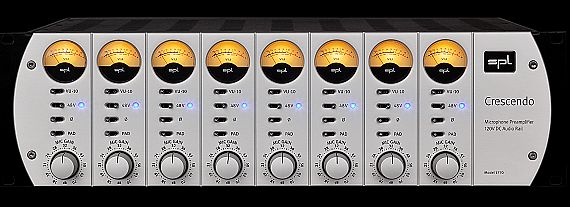 SPL 发布 Crescendo 120V 八通道话放