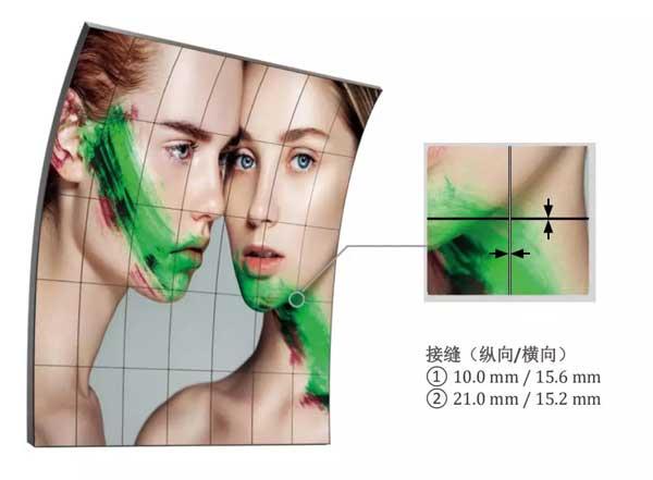 更轻、更薄,让显示空间成为艺术品—LG柔性弧形开放式OLED显示器