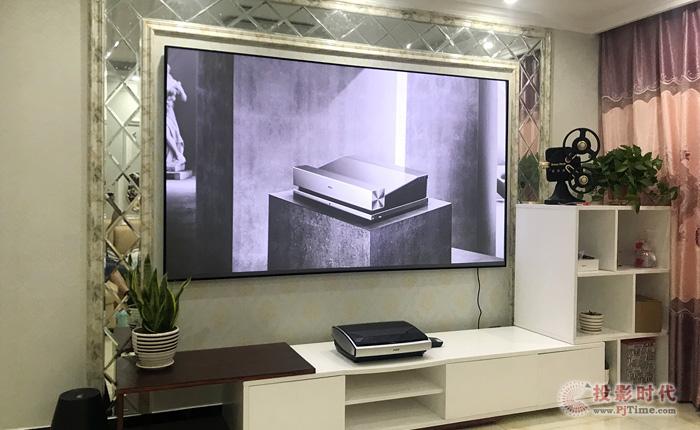 大屏观影神器 坚果智能U1 4K激光电视初体验