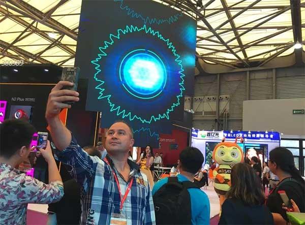 上海国际LED展丨场景神还原,身临其境体验艾比森屏显魅力