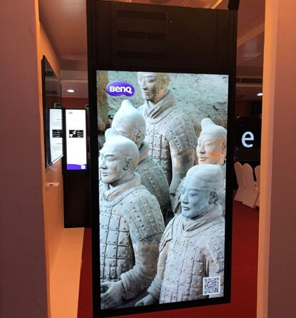 投屏结合更创意,明基引领展览展示革新