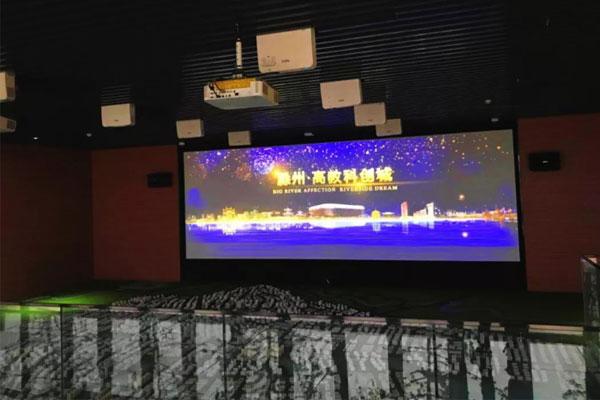 NEC高端商务投影机 描绘滁州高教科创城宏伟蓝图