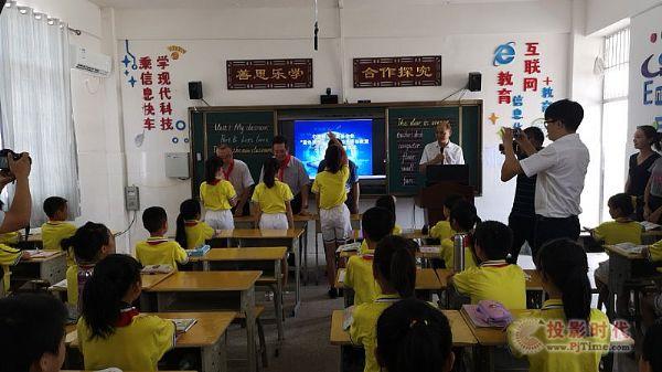 """华平""""专递课堂""""助力江西省偏远地区成就教育蓝色梦想"""