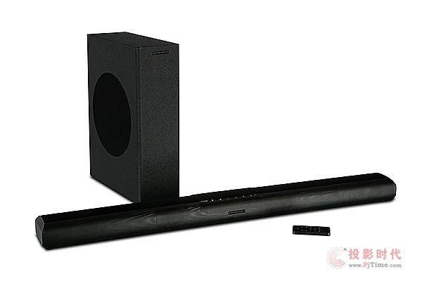 搭载无线超低音:Wharfedale推出Vista 200S Sound Bar