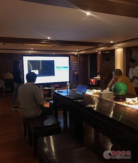 飞利浦智能会议平板进驻上海静安寺会议室