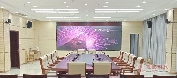 CECV60寸激光DLP拼接墙走进河南省舞阳县人防