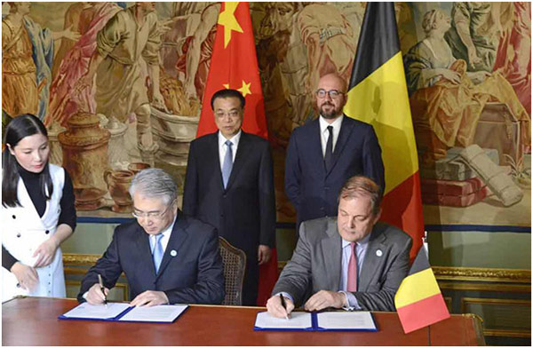 克强总理与比利时首相见证,中影、光峰牵手巴可开拓全球电影放映市场